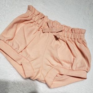 Baby girl peach color bottoms